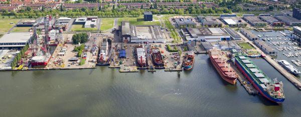 Damen Shiprepair Amsterdam The Netherlands Shipyards