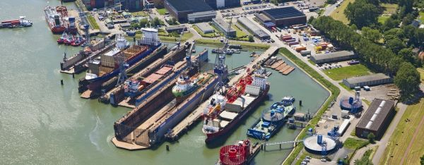 Damen Shiprepair Van Brink Rotterdam The Netherlands Shipyards