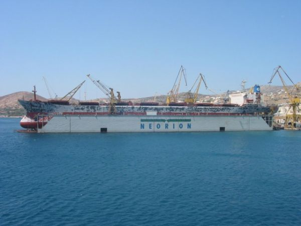ONEX SYROS SHIPYARDS SA ex Neorion Shipyard Holdings S.A Syros Greece