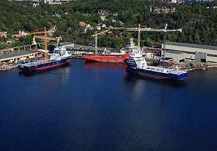 Vard Brevik Shipbuilding Norway