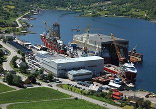 Vard Langsten Shipbuilding Norway
