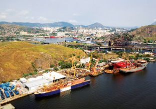 Vard Niteroi SA Shipyards Brazil