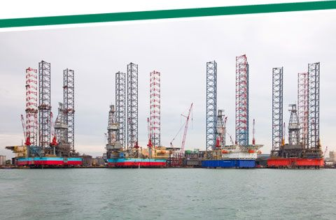Sembcorp Marine Pandan Yard Singapore