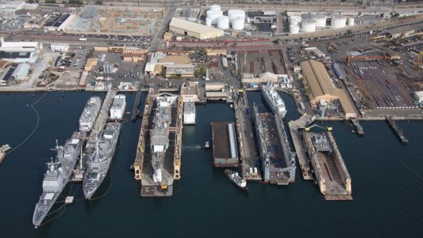 BAE Systems San Diego Bay Ship Repair