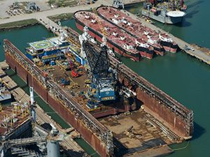 Gulf Copper Dry Dock & Repair Galveston