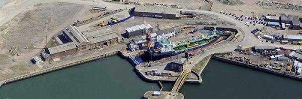 UK Docks Wearside