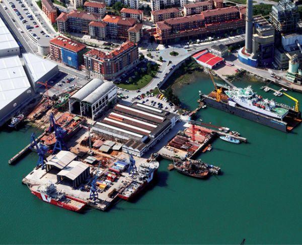 Zamakona Pasaia Shipyard Spain