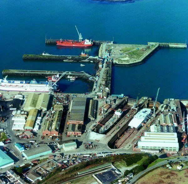 A&P Group Falmouth Shipyard England