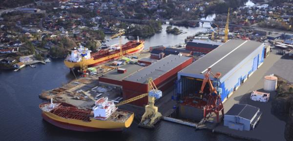 STX Norway Florø AS Norway shipyard
