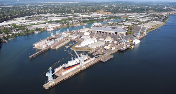 Vigor Shipyards Portland (formerly Todd Pacific Shipyards)