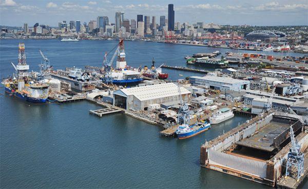 Vigor Shipyards Seattle, WA
