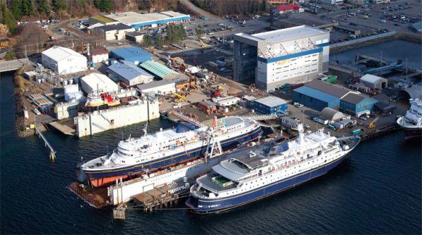 Vigor Shipyards Ketchikan, Alaska
