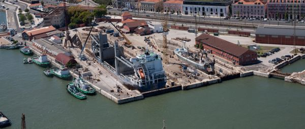 Naval Rocha Shipyard Portugal