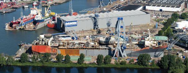 Damen Shiprepair Rotterdam The Netherlands Shipyards